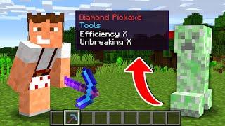 Paso Minecraft pero Los Creepers me Hace OP