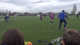 Portsmouth FC goals and Training #3