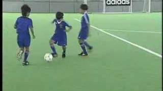 Coerver Coaching - Soccer Tips - Change of Direction 1 - 3