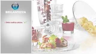 Итальянская посуда от Vidivì - cтекло высокой четкости и абсолютной прозрачности