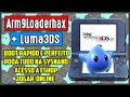 3DS Arm9LoaderHax Luma3DS Ver 5 4 CFW Nativa Na SysNAND 2DS 3DS New3DS