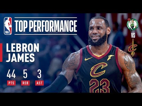 LeBron James Defends The Land In Game 4 To Tie Series 2-2