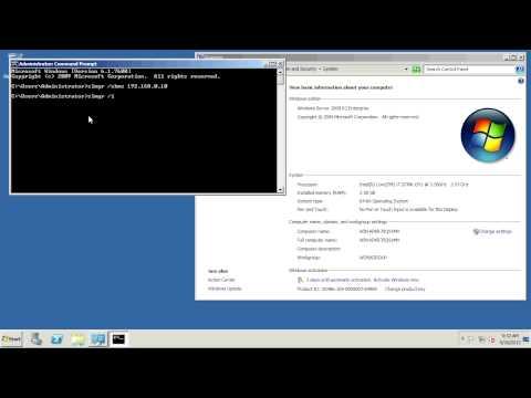 Activating Windows Server 2008 R2 Enterprise with a KMS server