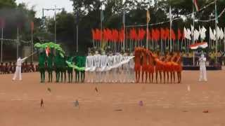 Sports Day Colourful Performance