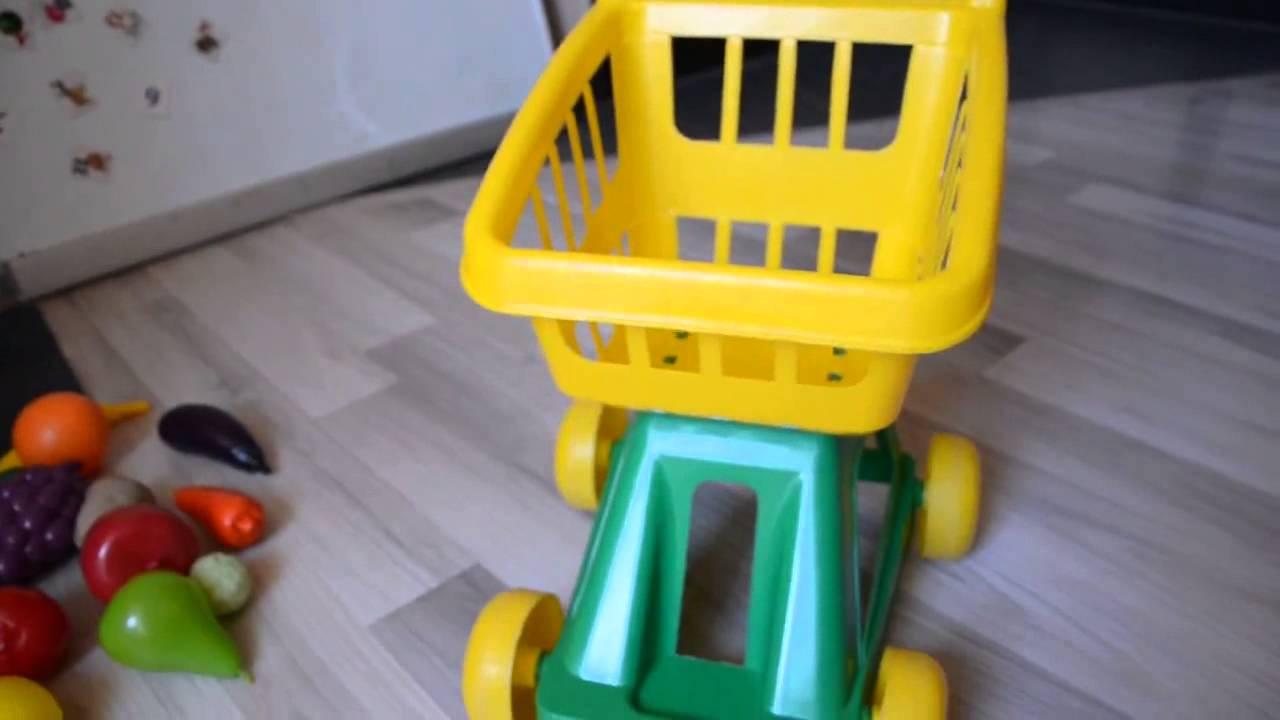 Супермаркет с тележкой Smoby Смоби - YouTube