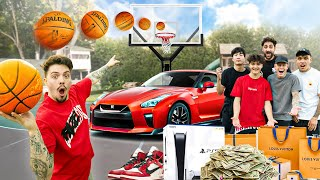 Make the Shot, I'll Buy You Anything Challenge! (ft. RiceGum)