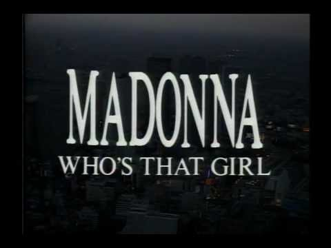 01. Intro - Madonna - Who's That Girl Tour - Live In Japan