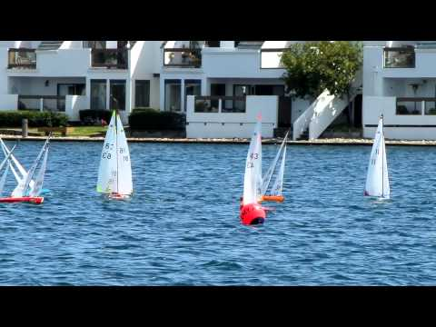 R611As Sailing R/C International One Metre