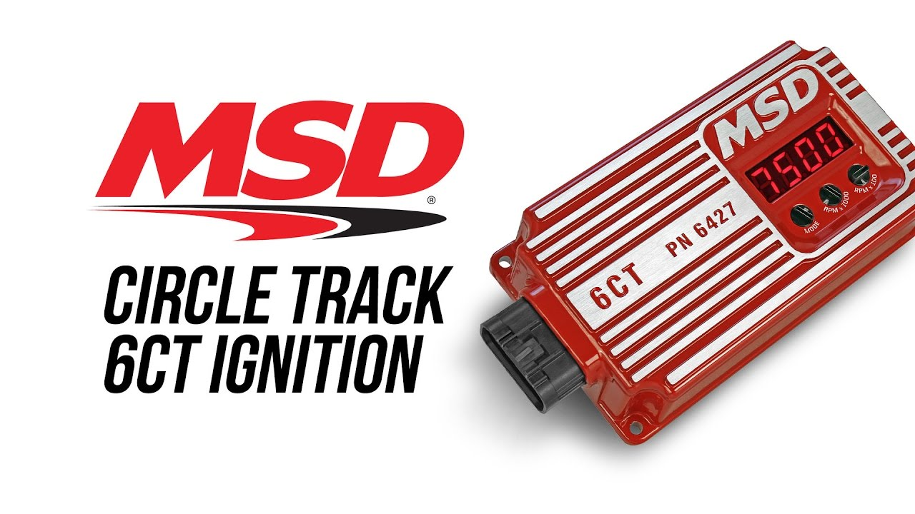 MSD IGNITION 6427 Hardcore 6CT Circle Track Ignition Control