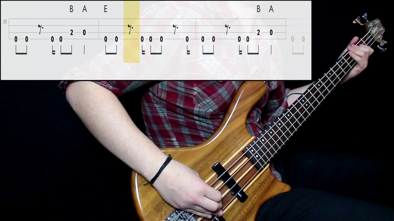 how to play my own worst enemy on bass