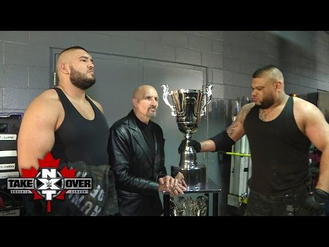 Paul Ellering and The Authors of Pain prepare for their next chapter: NXT Exclusive, Nov. 19, 2016