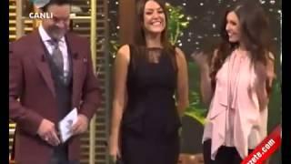 Yolanthe Cabau -  Beyaz Show'da Türkçe Konuşuyor - 08.02.2013