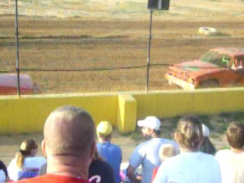 Dirt track racing at Windy holloe speedway