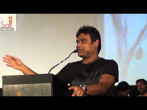 Harris Jayaraj speaks at Endrendrum Punnagai Audio Launch