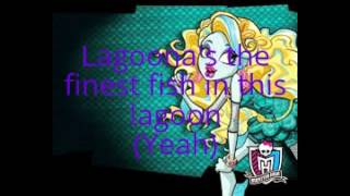 Monster High - Fright Song (Lyrics)
