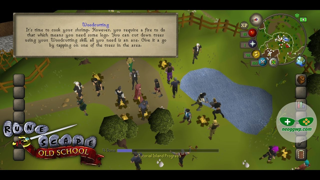 Old School RuneScape (Android iOS APK) - MMORPG Gameplay
