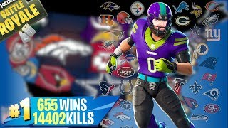 🔴FORTNITE Lv.100 SKIN NFL! OGGI IF FERMA THE COMPLETE SHOP? CODICE: XIUDERONE
