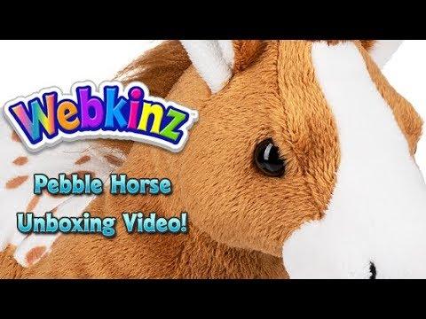 Webkinz Pebble Horse Unboxing - NEW Pet July 2018!