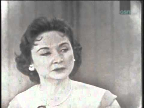 What's My Line? June 1, 1958: Best Contestant Ever