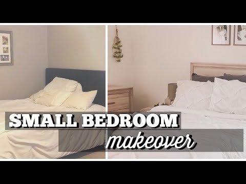 SMALL MASTER BEDROOM MAKEOVER | bedroom decor & furniture | Morph Your Space