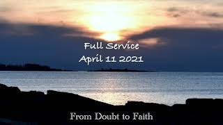 Congregational Church of Boothbay Harbor Full Service for April 11 2021