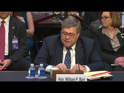 "WATCH: Barr said he would ""not go after"" marijuana companies"