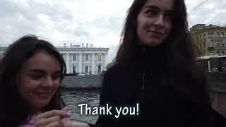 Russian girls! Hot Street question! Money and girl! Russia St Petersburg 2019!