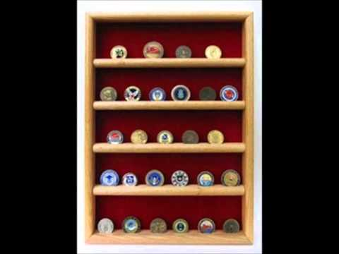 Shop Challenge COIN DISPLAY STANDS, Coin Display Rack