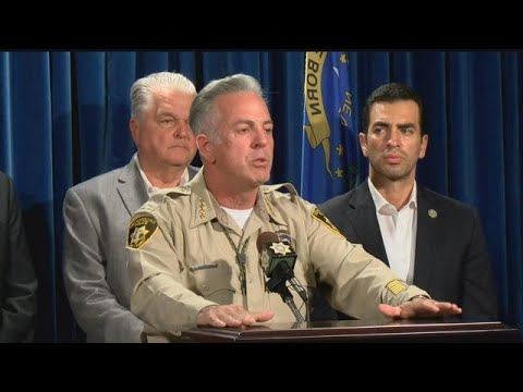 RAW VIDEO: Official briefing on Las Vegas shooting (Oct. 2 at 11:40 a.m. EDT)