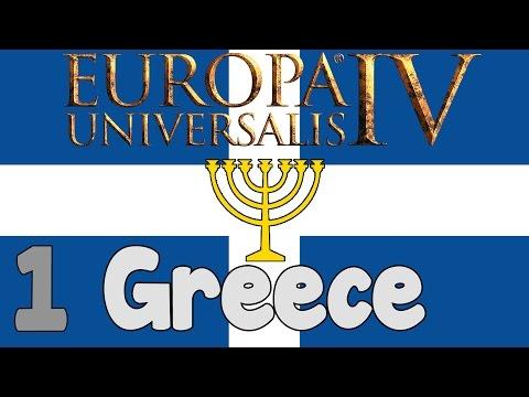 Europa Universalis 4 -  Jewish Greece episode 1