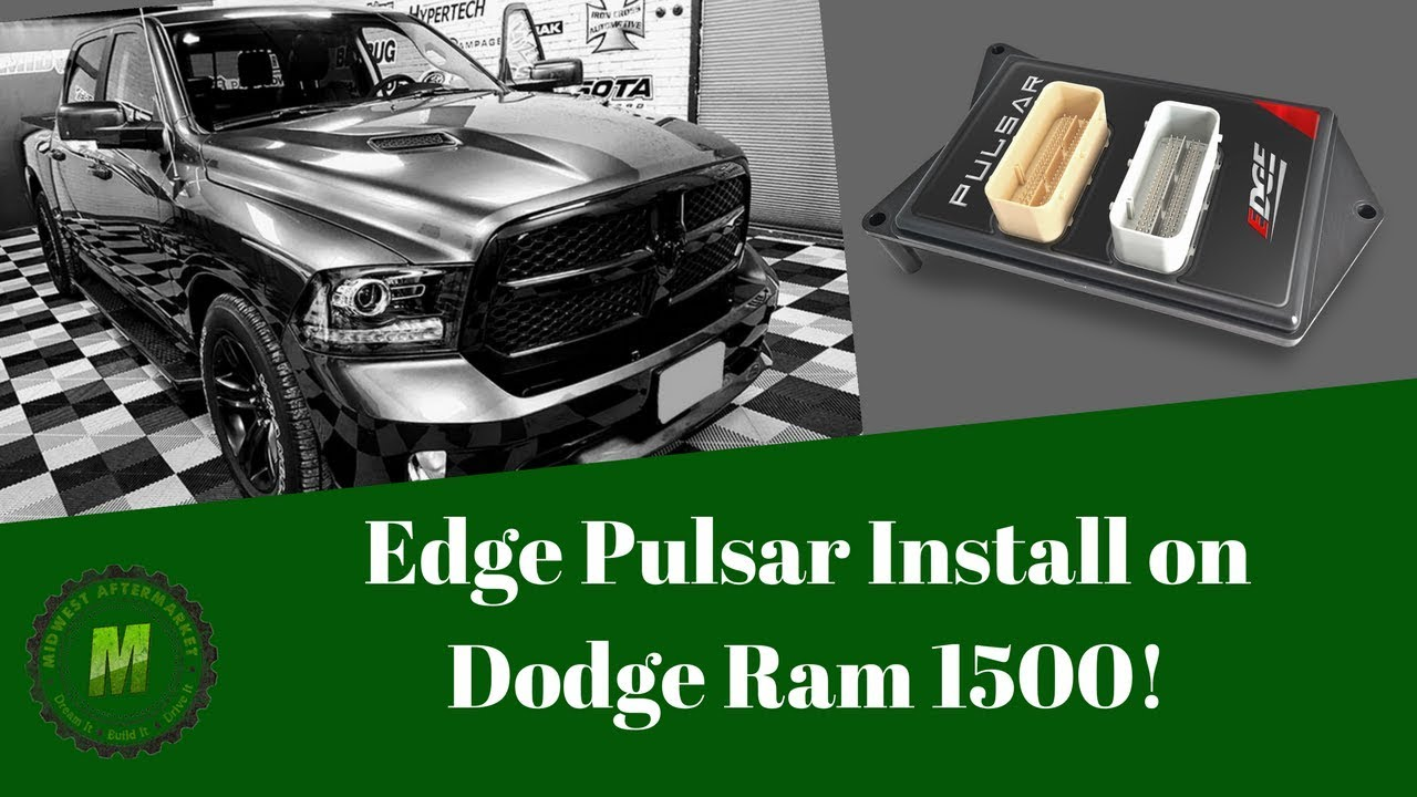 How To Install the Edge Pulsar Tuning Module on Dodge Ram 1500