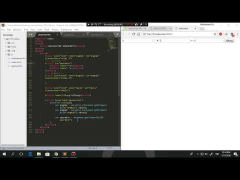 Cara Membuat Javascript Sendiri