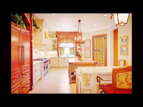 French Country Kitchen: Decor, Cabinets, Ideas, and Curtains