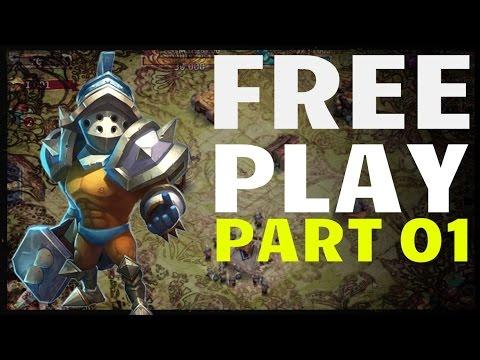 Castle Clash Free Play 01: Executioner Over Pumpkin Duke?!