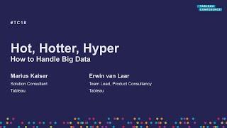 Hot, hotter, Hyper | How to handle big data