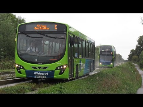 The Cambridge Guided Busway September 2018