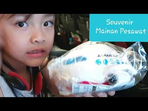 Souvenir Japan Airlines 🇯🇵  Mainan Die Cast Pesawat Terbang - Gratis untuk Anak-anak