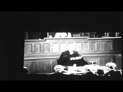 Opening to Murder Most Foul on TCM (1964)
