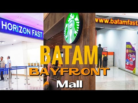 BAYFRONT Mall Batam [NEW] - Shopping Mall Baru di Batam