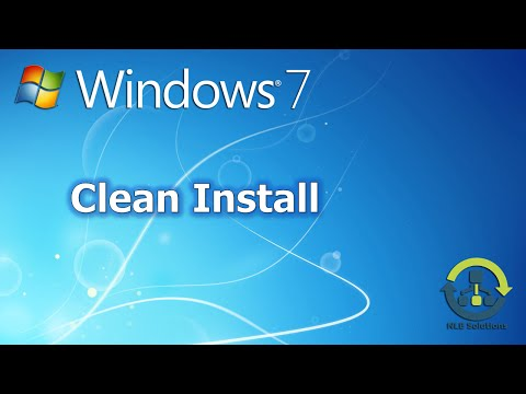 How to perform a clean install of Windows 7 (Downgrade from Windows 10)