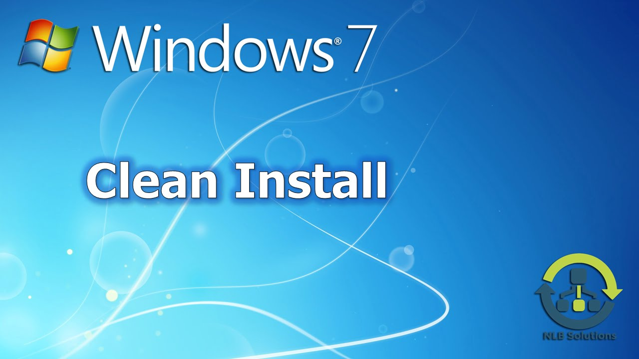 how to do a clean install of windows 7 over windows 10