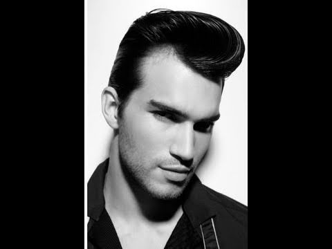How To Retro Side Part Hair Tutorial Featuring Johnny B Styling Gel