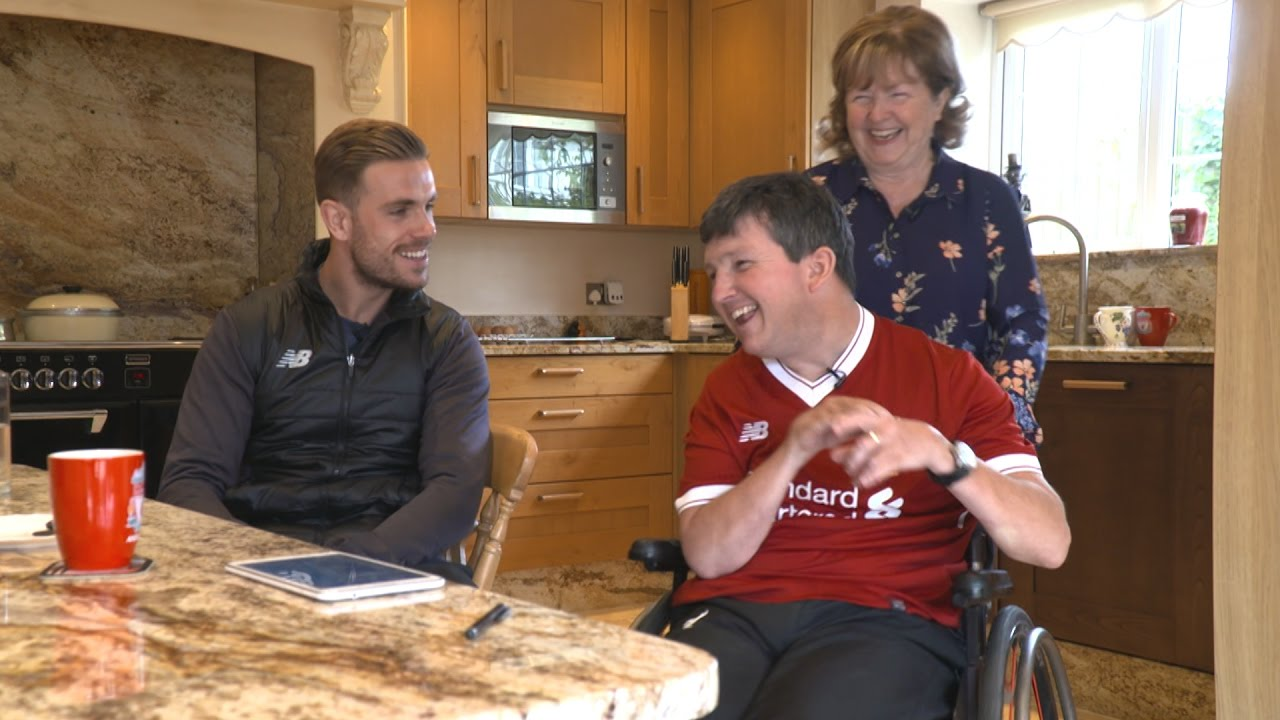 aac428d5380 Jordan Henderson suprises a lifelong LFC fan | Pure Liverpool FC ...