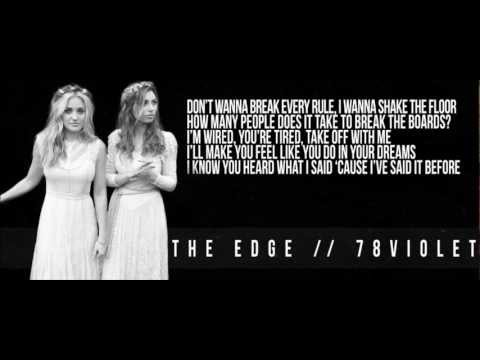 78violet-The Edge:歌詞+中文翻譯