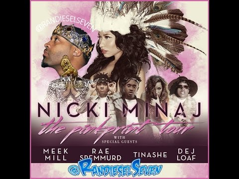 Nicki Minaj PINKPRINT TOUR  2015 (1080p)