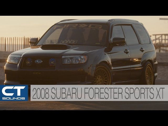 Ct Sounds System Overview 2008 Subaru Forester Sport Xt Malaysia