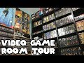 VIDEO GAME ROOM TOUR! 3000 GAMES! [HD] - bizzNES17