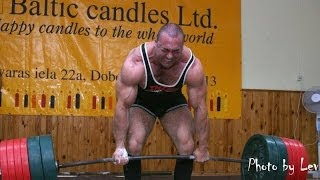 Heaviest Deadlifts in Human History
