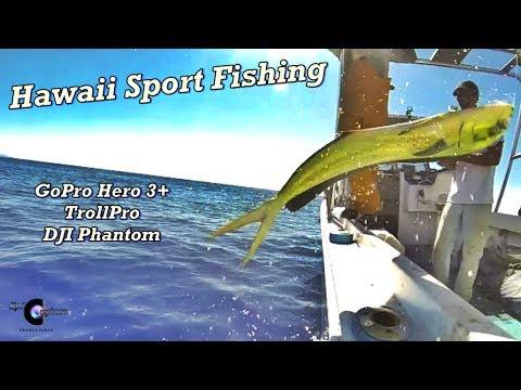 Hawaii sport fishing with gopro trollpro and dji phantom for Sport fishing hawaii