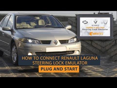 How To Connect Renault Laguna Steering Lock Emulator - Plug And Start